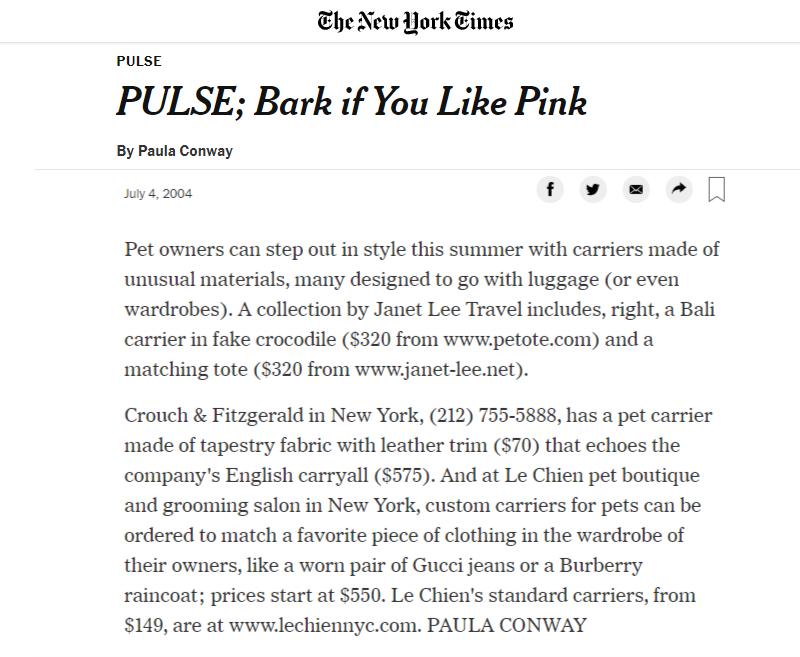 Bark If You Like Pink